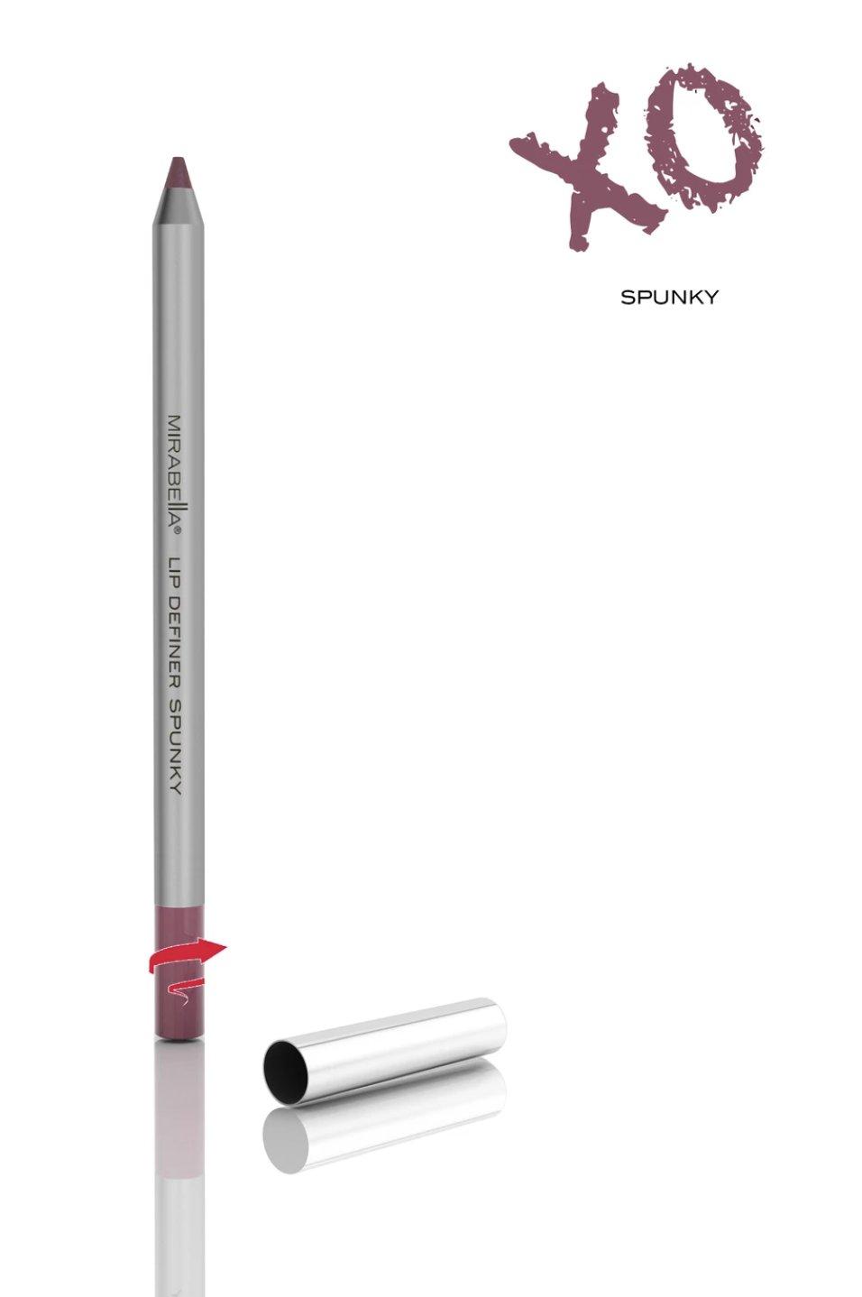 Mirabella Line and Define Retractable Lip Definer Pencil - Spunky
