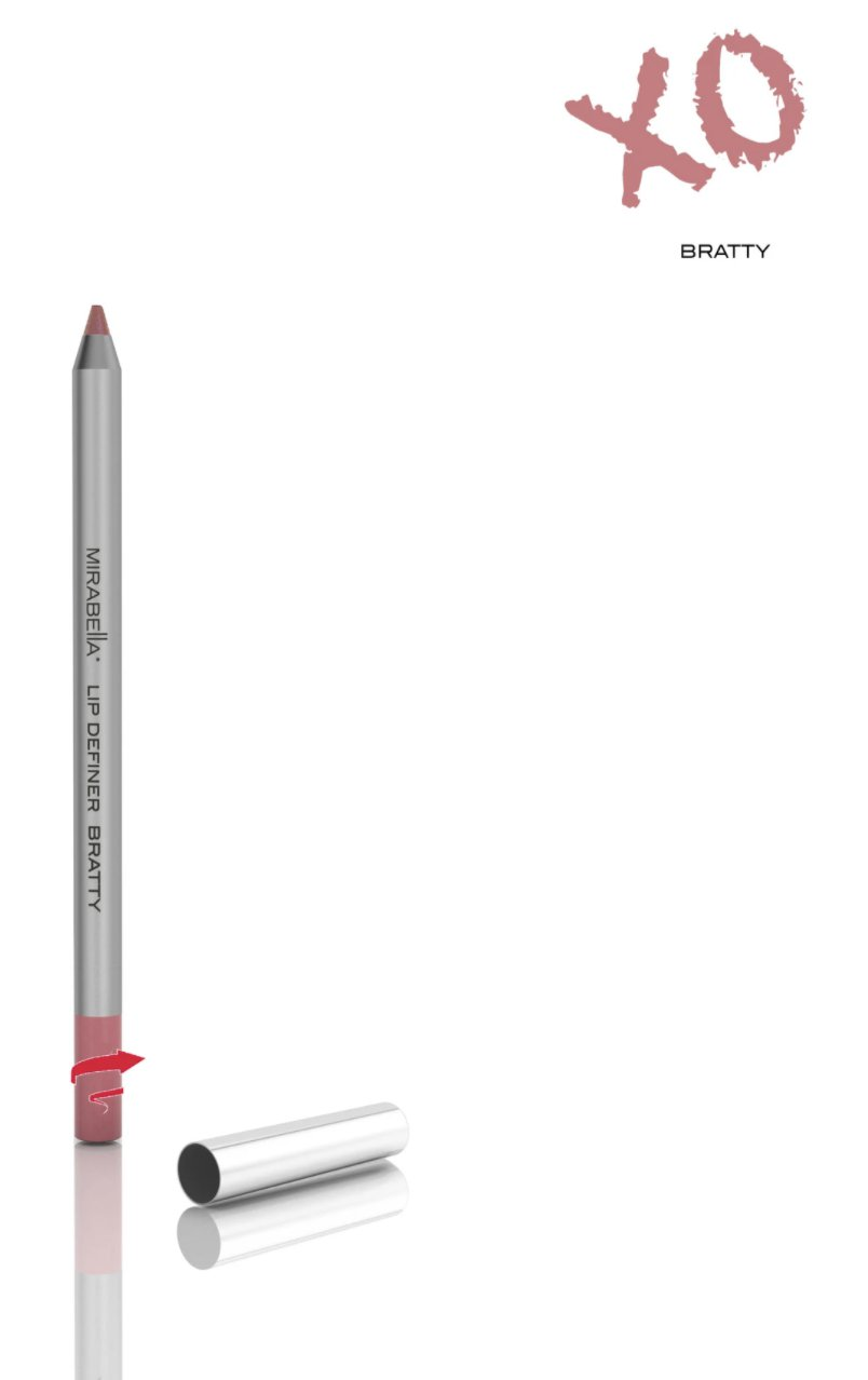 Mirabella Line and Define Retractable Lip Definer Pencil - Bratty