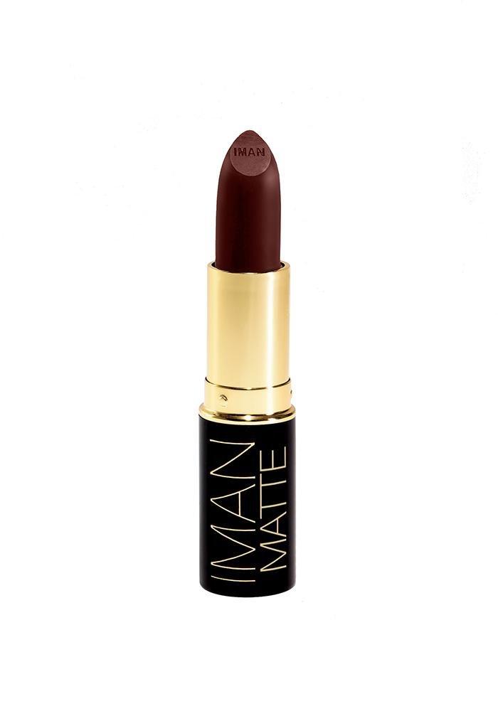 Iman Cosmetics Luxury Matte Lipstick Fetish