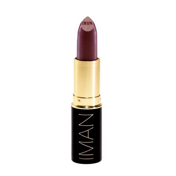 IMAN Luxury Moisturizing Lipstick, Black Brandy