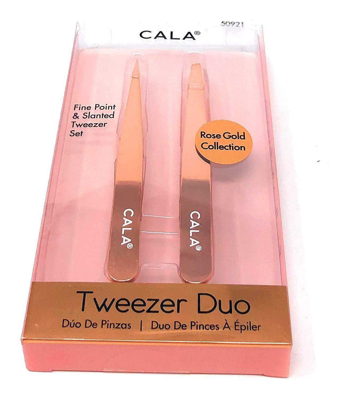 Cala  tweezer duo, Rose gold
