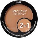 Revlon ColorStay 2-in-1 Compact Makeup & Concealer, True Beige 320