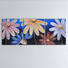 Abstract Art Modern Oil Paintings Large Contemporary Wall Art Egg Flower