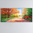 Landscape Art Modern Oil Paintings Large Contemporary Wall Art Road