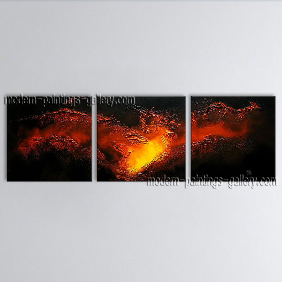 Hand Painted Amazing Modern Abstract Painting Wall Art Interior Design