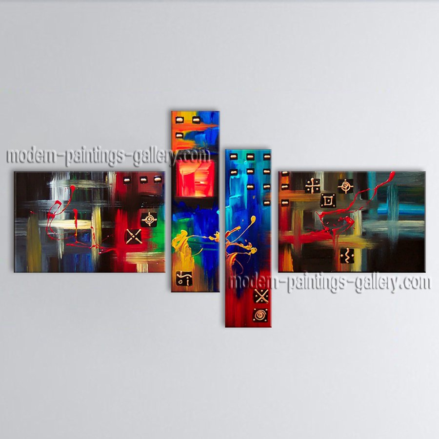 Hand Painted Large Modern Abstract Painting Wall Art Artwork Images