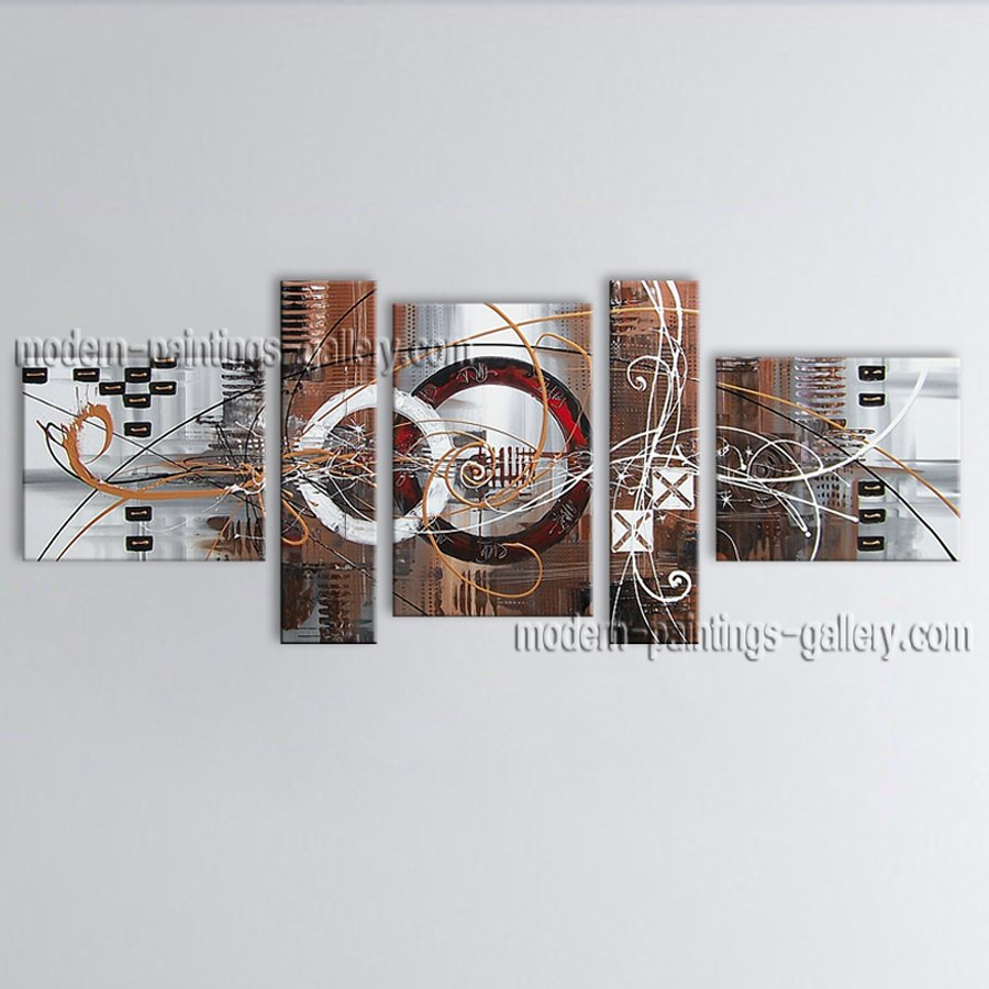 Hand Painted Large Modern Abstract Painting Wall Art Interior Design