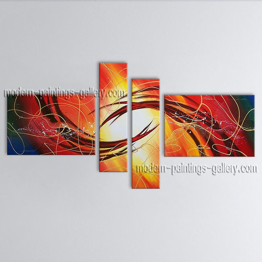 Hand Painted Large Modern Abstract Painting Wall Art Artwork Pictures