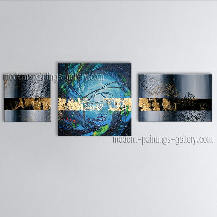 Hand Painted Stunning Modern Abstract Painting Wall Art On Canvas Artworks