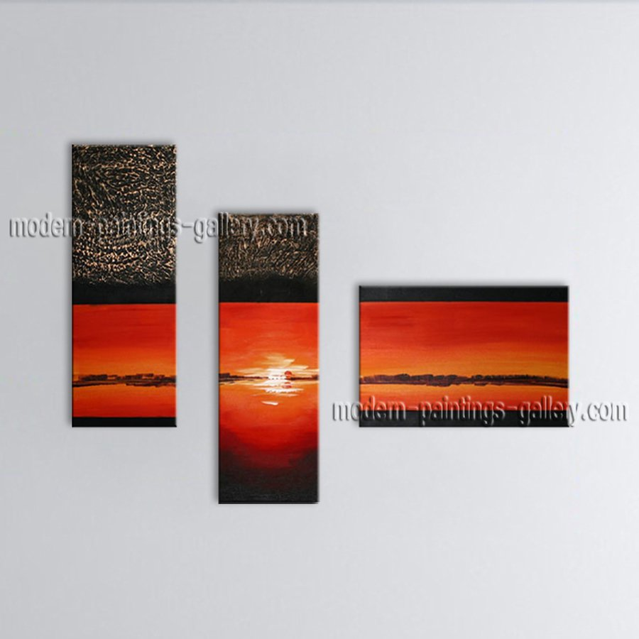 Hand Painted Amazing Modern Abstract Painting Wall Art Decoration Ideas