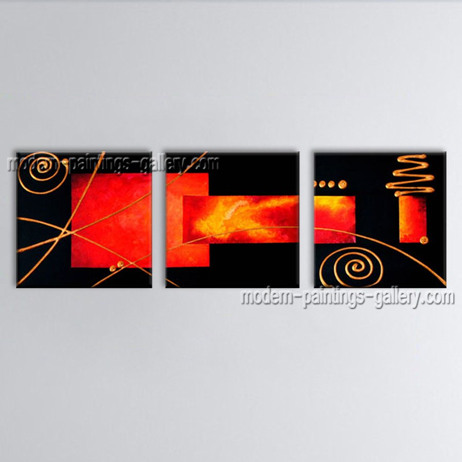 Handmade Artcrafts Amazing Modern Abstract Painting Wall Art Inner Framed