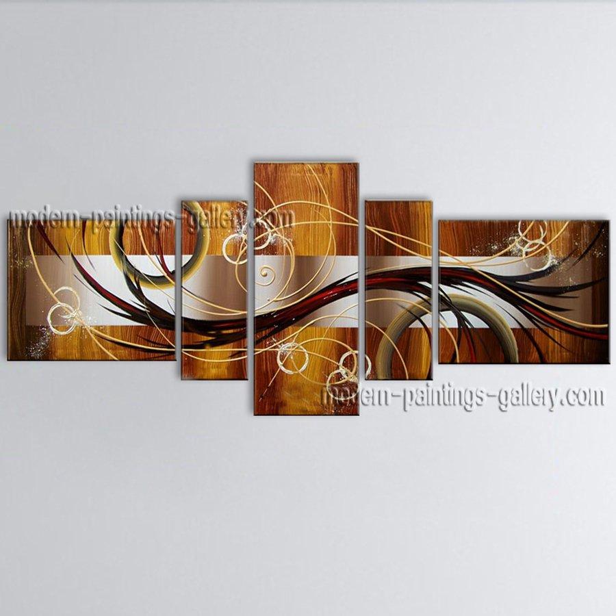 Handmade Artcrafts Large Modern Abstract Painting Wall Art Artist Artworks
