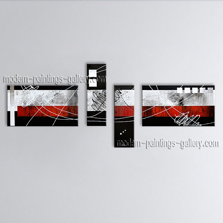Hand-painted Large Modern Abstract Painting Wall Art On Canvas Artworks