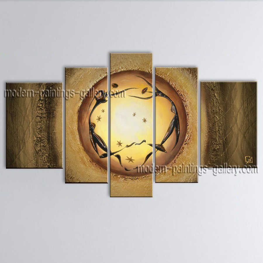 Handmade Large Modern Abstract Painting Wall Art Figure On Canvas Artworks