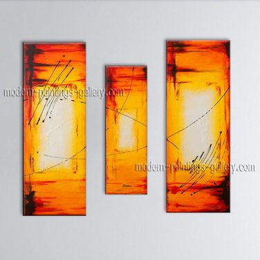 Hand Painted Elegant Modern Abstract Painting Wall Art Inner Stretched