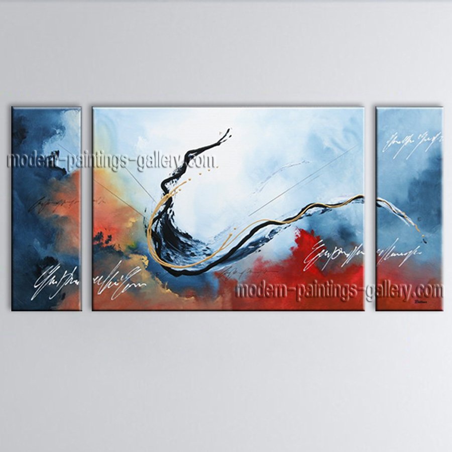 Hand Painted Elegant Modern Abstract Painting Wall Art Artist Artworks
