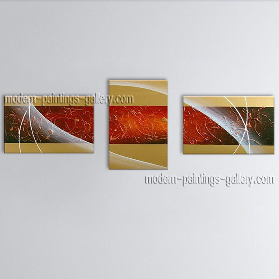 Hand-painted Stunning Modern Abstract Painting Wall Art Inner Stretched