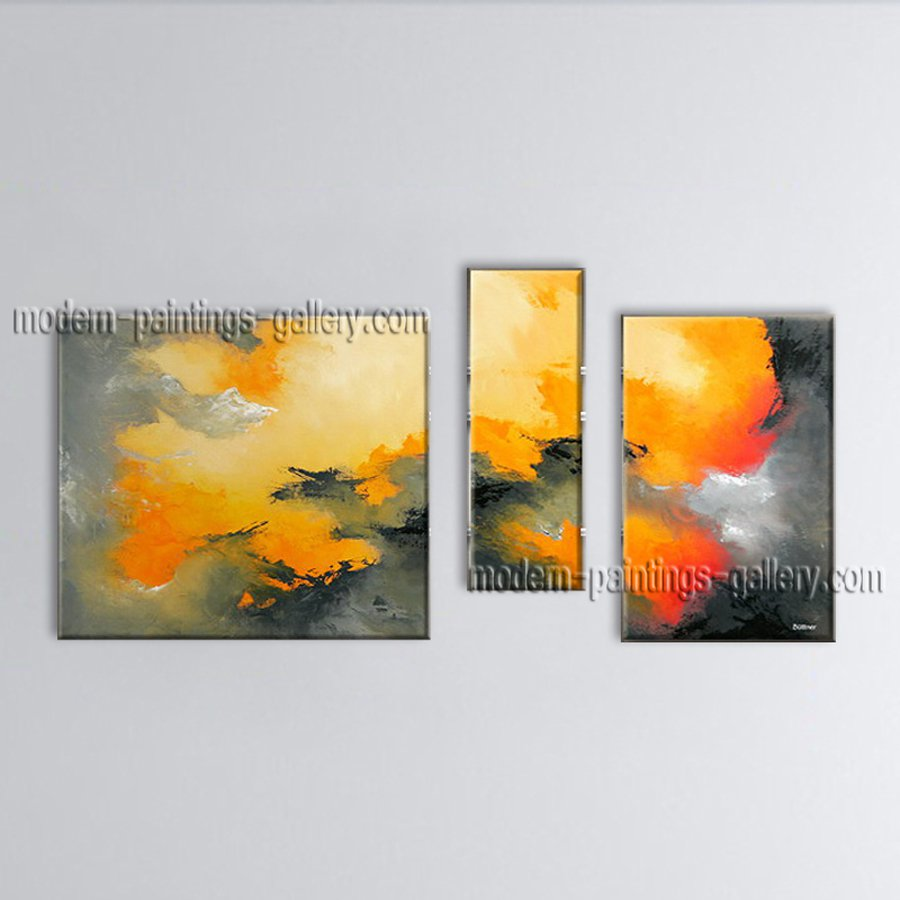 Hand-painted Elegant Modern Abstract Painting Wall Art Ready To Hang