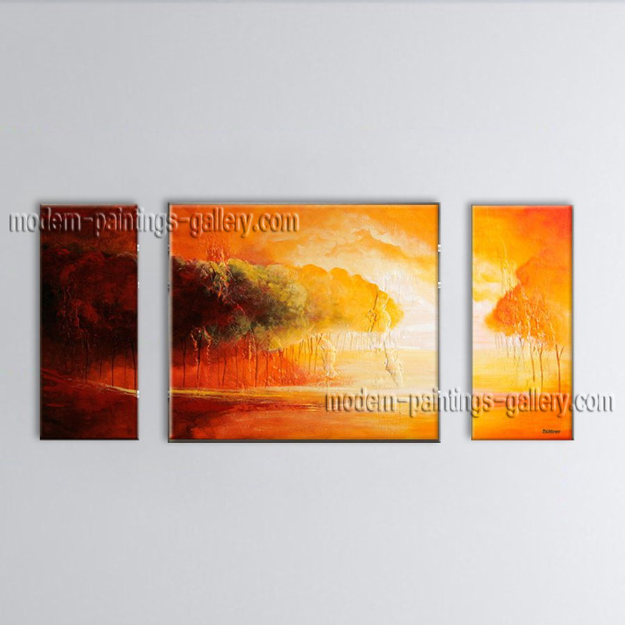 Hand-painted Stunning Modern Abstract Painting Wall Art Artwork Pictures