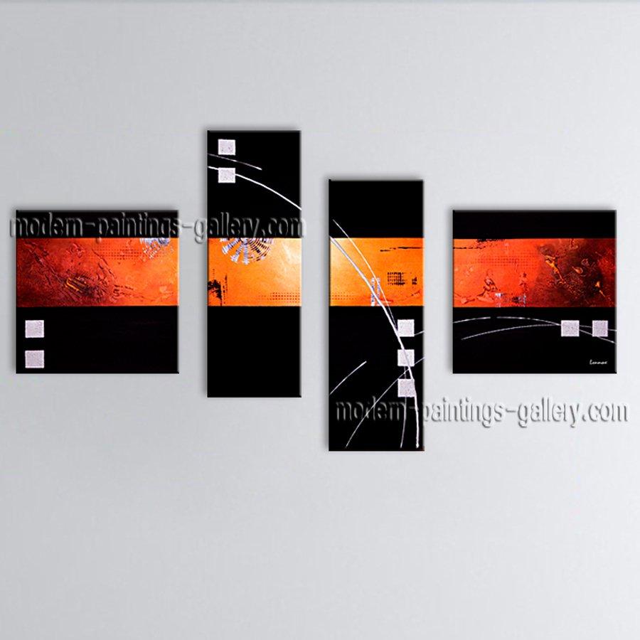 Handmade Artcrafts Large Modern Abstract Painting Wall Art Interior Design