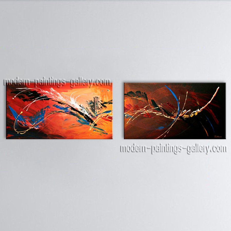 Hand-painted Astonishing Modern Abstract Painting Wall Art Interior Design