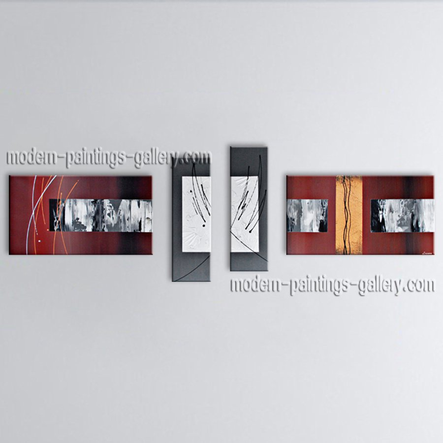 Hand-painted Large Modern Abstract Painting Wall Art Interior Design