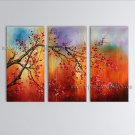 Elegant Contemporary Wall Art Floral Cherry Blossom Landscape Scene