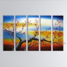 Large Contemporary Wall Art Floral Painting Plum Blossom Landscape Scene