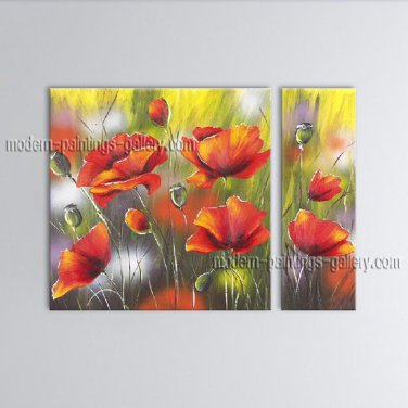 Astonishing Contemporary Wall Art Floral Painting Flower On Canvas