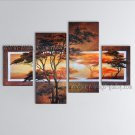 Hand Painted Large Contemporary Wall Art Landscape Painting Inner Framed