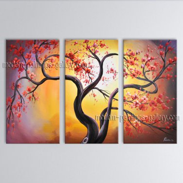 Beautiful Contemporary Wall Art Landscape Painting Tree Tree Paintings