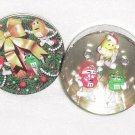 Carlton Ornaments ~ M&Ms Trio Tin 2000 ~ 3 Ornaments