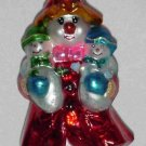 Christopher Radko Glass Ornament ~ Mrs. Iceberg 1999 (mother w/babies & snowwoman) ~ Limited Edition