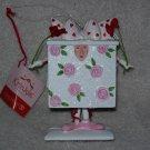 Dept. 56 Ornament ~ Krinkles ~ Pink Rose Box 2003