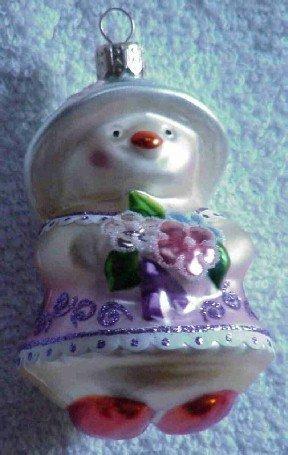 Hallmark Spring Glass Ornament ~ Spring Chick 1999