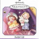 Hallmark Spring Ornament ~ Bashful Gift 1998 (set of 2)