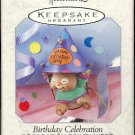 Hallmark Spring Ornament ~ Birthday Celebration 1999