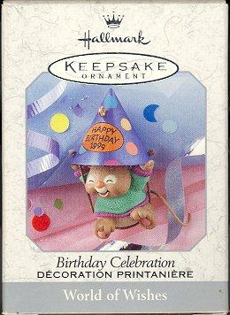 Hallmark Spring Ornament ~ Birthday Celebration 1999