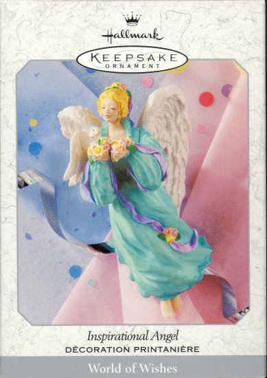Hallmark Spring Ornament ~ Inspirational Angel 1999