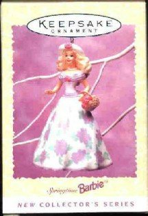 Hallmark Spring Ornament ~ Springtime Barbie 1995 ~ 1st in a series