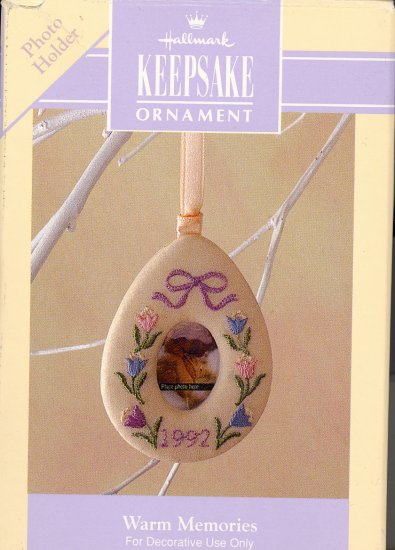 Hallmark Spring Ornament ~ Warm Memories 1992