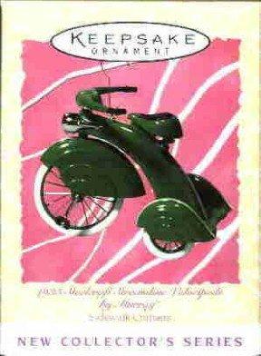 Hallmark Spring Ornament ~ (1935) Steelcraft Streamline Velocipede 1997