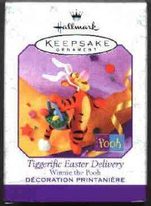 Hallmark Spring Ornament ~ Spring Tiggerific Easter Delivery 1999 ~ Winnie the Pooh