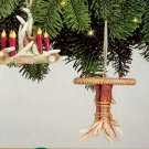 4 Antler Lodge Look Ornaments