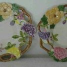Floral Decorative Plate and Bowl