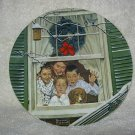 Surprises For All 1980 ~ Christmas Plate by Norman Rockwell