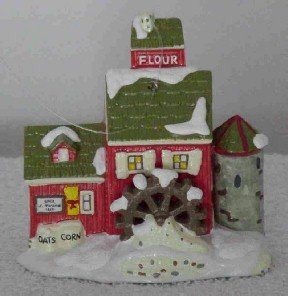 Dept 56 Ornament ~ J. Youngs Granary 1997 ~ Snow Village