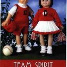 17 to 19 inch Doll Clothes Pattern ~ Team Spirit