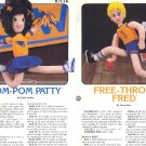 Basketball & Cheerleader Doll Patterns ~ Annies Attic