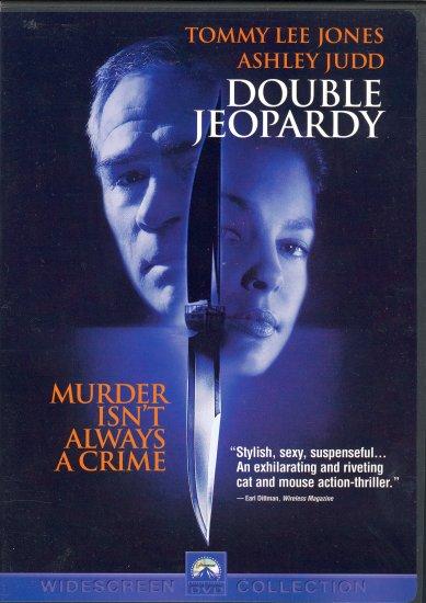 Double Jeopardy ~ DVD ~ 1999 ~ Tommy Lee Jones & Ashley Judd